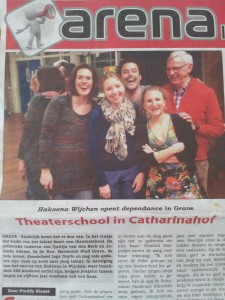 Theaterschool in Catharinahof